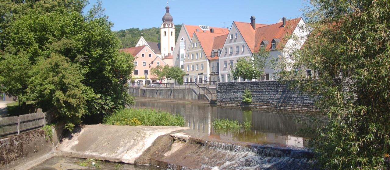 Schwandorf mit Naab